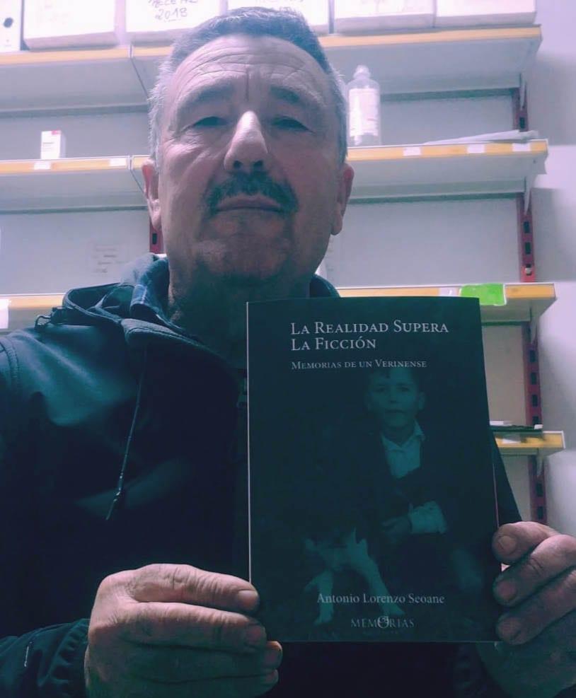 Foto del libro La realidad supera la ficción, Antonio Lorenzo Seoane