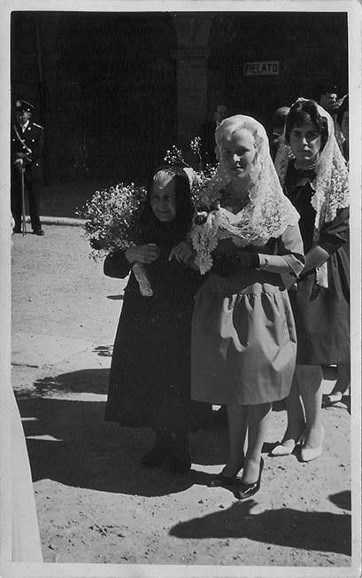 Fotos del libro de memorias de Marina Payet